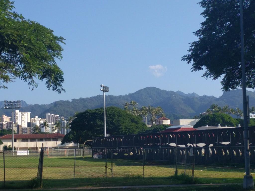 Walking to ALC Oahu!